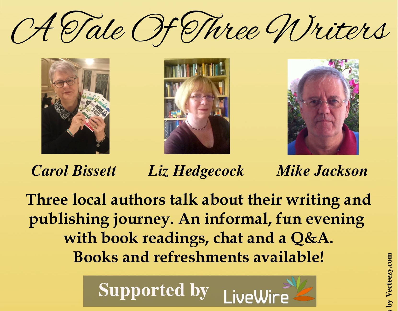 A Tale of Three Writers