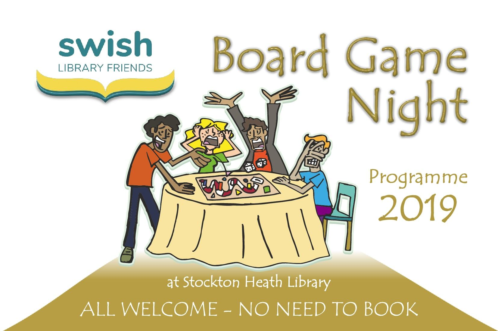 Board Games Nights in 2019